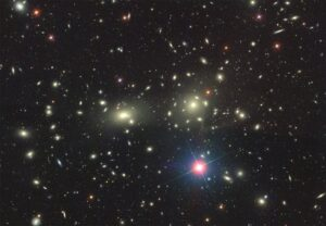 خوشه کهکشانی گیسو (کما) در نزدیکی ما