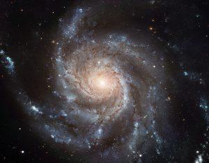 کهکشان مارپیچی فرفره M101