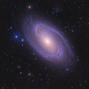کهکشان مارپیچی M81