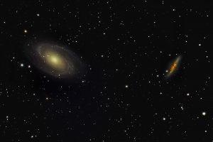 کهکشان های M82 و M81