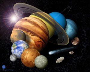 معرفی اعضای منظومه شمسی