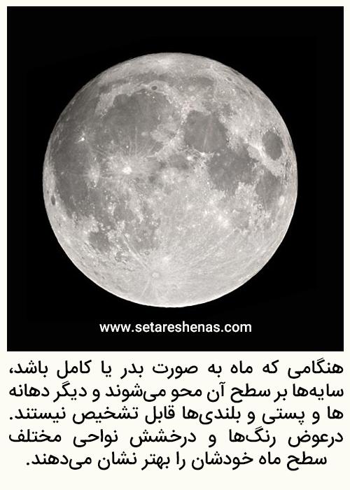 آموزش نجوم توسط محمد همایونی ماه کامل