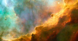 قسمت زیبایی از سحابی امگا