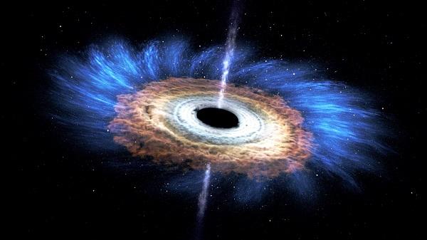 آموزش نجوم توسط محمد همایونی سیاه چاله