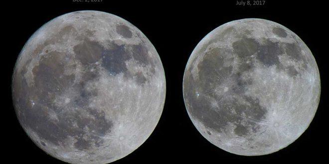 ابرماه و ماه معمولی
