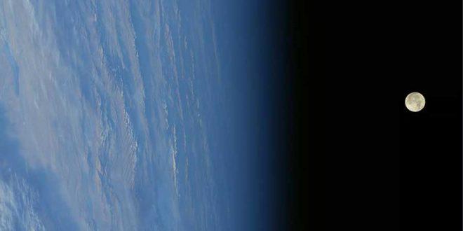 ابرماه از دید فضانوردان