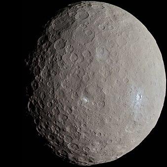 سیاره کوتوله سرس از دید داون