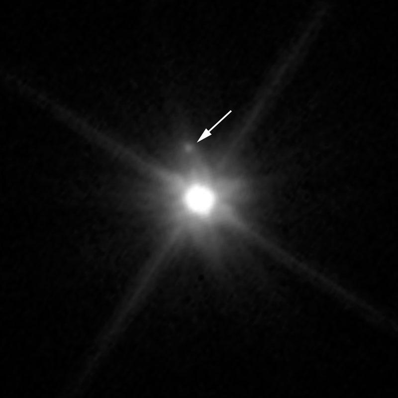 سیاره کوتوله ماکی ماکی از دید تلسکوپ هابل