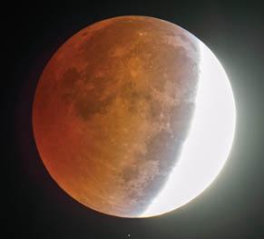 ماه در گرفتگی جزئی