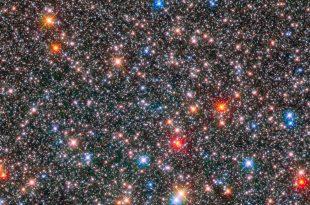 ستارگان در مرکز کهکشان راه شیری