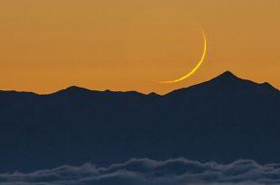 رویت هلال ماه