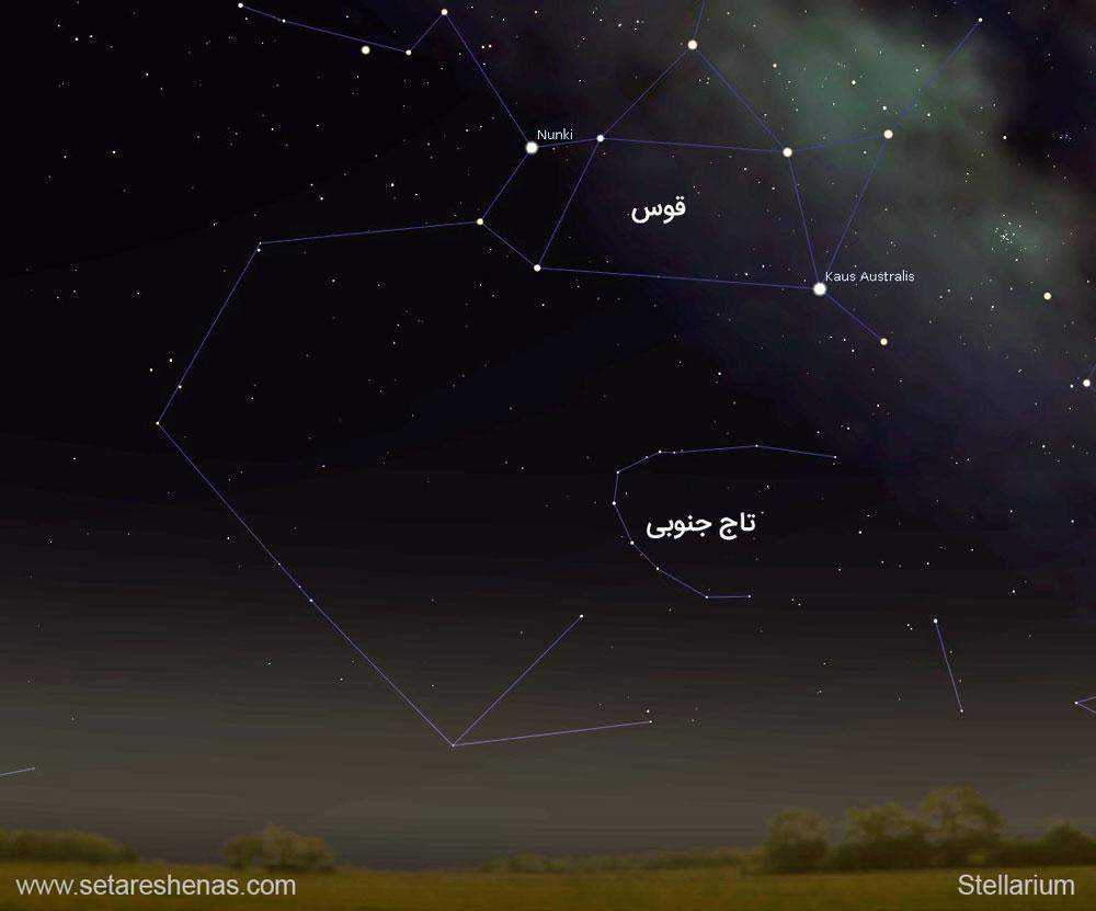 صورت فلکی تاج یا اکلیل جنوبی