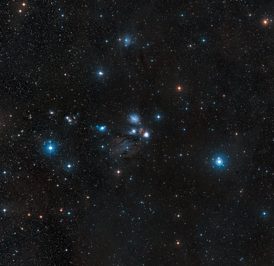 R2تکشاخ و سحابی NGC 2170