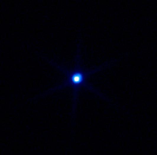 تصویر پرتو X نزدیک ترین ستاره نوترونی RX-J1856.5-3754