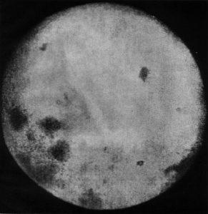 نخستین تصویر از آن طرف ماه