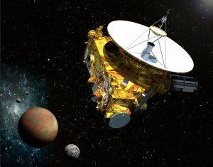 فضاپیمای افقهای نو در ملاقات با پلوتون