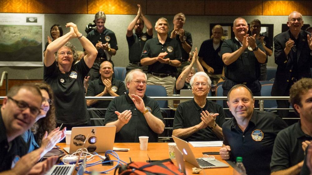 تیم تحقیقاتی فضاپیمای افق های نو