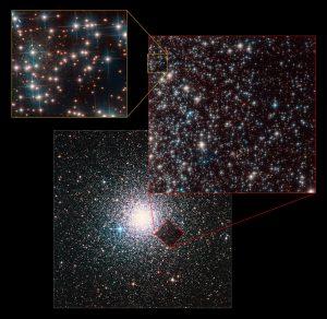 کهکشان جدید در پشت خوشه کروی