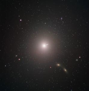 کهکشان بیضوی M87