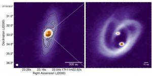 تصویر دقیق از تشکیل ستاره دوگانه
