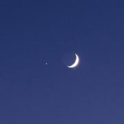 هلال ماه و مشتری