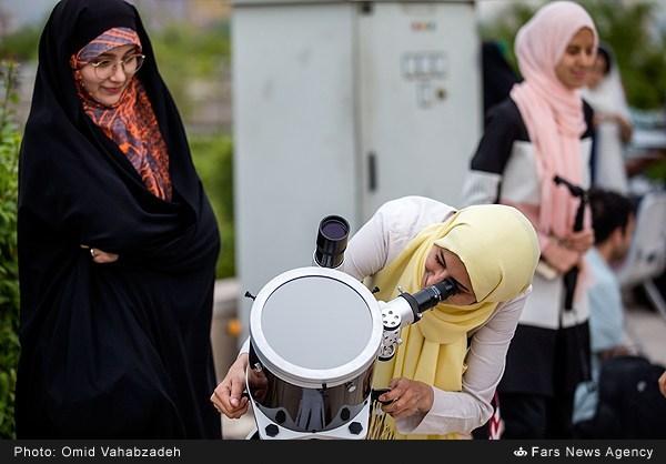 گذر عطارد سال 95 برج میلاد تهران