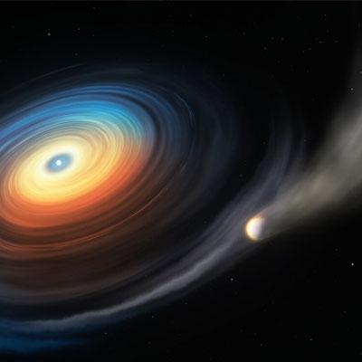کشف اولین سیاره فراخورشیدی در مدار کوتوله سفید