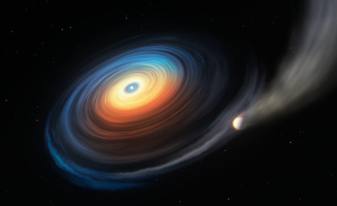 کشف نخستین سیاره غول در مدار یک کوتوله سفید
