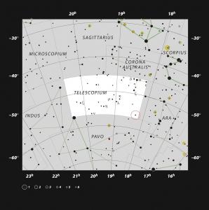 صورت فلکی تلسکوپ